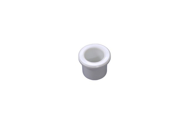 "White PVC Tube Fittings , 1/2"" Plug Spa Accessory Spa Plastic sanitary fittings"