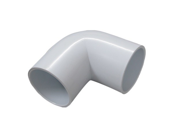 Polyvinyl Chloride PVC Male - Female Elbow 90 Degree With Long Life Time