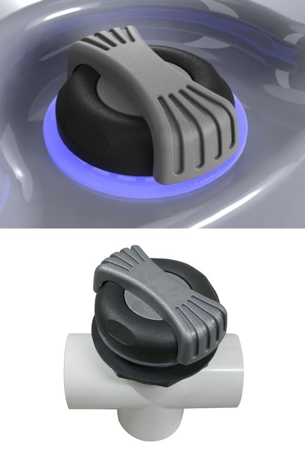 Hot Tub Spa Led Diverter Valve Inflatable Spa Hot Tub Accessories